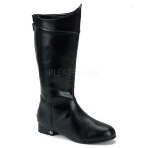 Mens Cosplay Halloween Pull-On Super Hero Boots